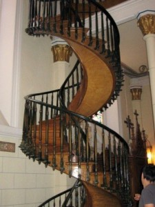 How to bend handrails for spiral staircase