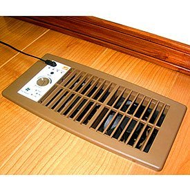 Verwarmingsventilatieroosters plaatsing in de kamer