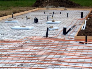Installation costs for installing radiant floor heat on wood
