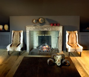 Accessories for antique fireplaces