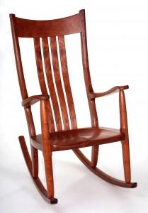 Construction d'un fauteuil à bascule