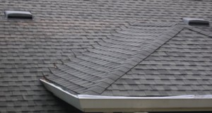 Repairing a leaky shingle woven roof valley