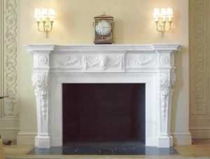 About marbe fireplace mantels