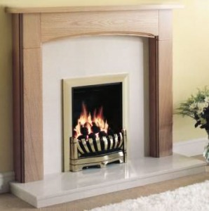 Fireplace mantels with a modern look