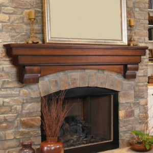 How to install a floating fireplace mantel