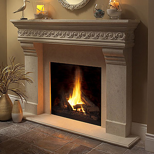About stone fireplace mantels