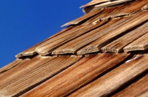 Replacing wood shingles