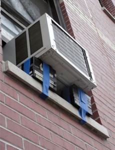 Noisy window air conditioners