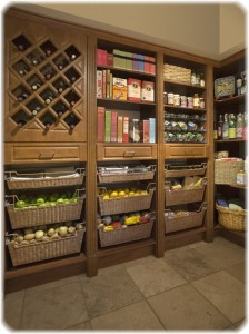 Making a kitchen pantry cabinet