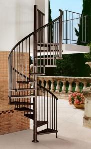 Projetando a escada em espiral perfeita para sua casa
