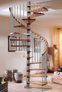 Designing a spiral staircase