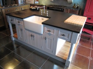 How to add a sink to a kitchen island