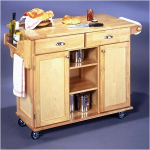 Making your own kitchen island cart