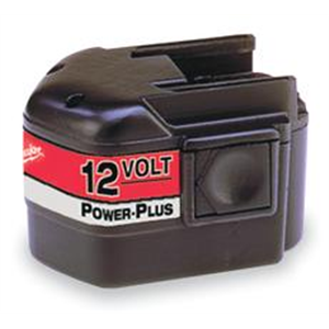 Over Milwaukee 12 volt accu