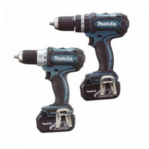 Power Tools with Lithium-Ion batteries