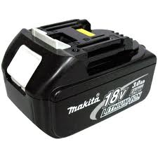 Om the Makita 18V batteri