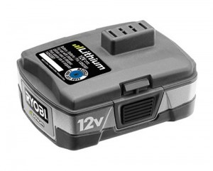 O Ryobi 12V baterii