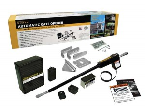 Components of an automatic gate operator