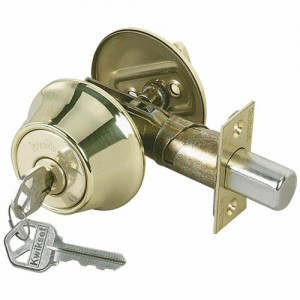 Tips for a deadbolt lock