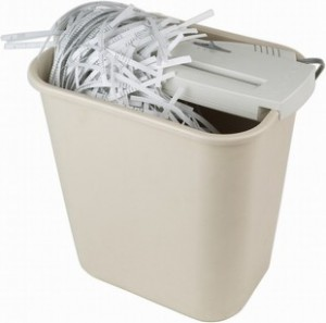 The necessity of a paper shredder
