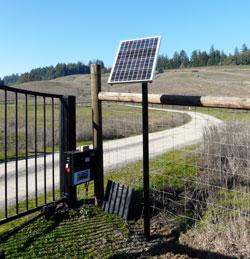 Portões solar
