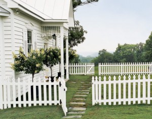 Über legende picket fences