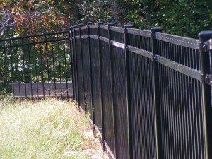 Cheap aluminum fences
