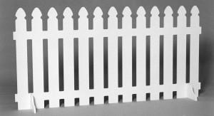 Realización de una valla de jardín portátil