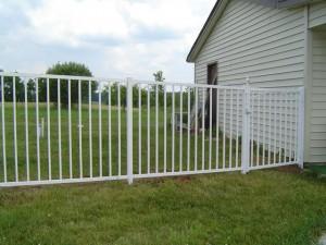 Aluminium hekken