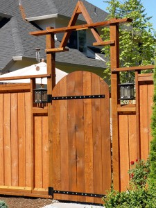 Designing a fence gate