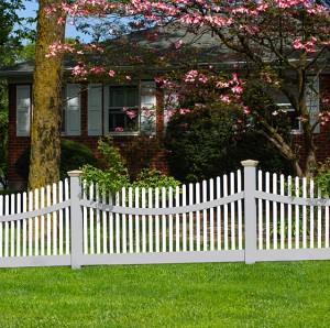 Bir vinil çit tamiri