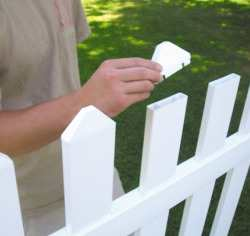 Picket fence maintenance
