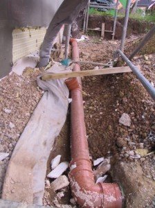 Drainage standards for a sump pump