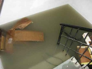 How to clean after a basement flood