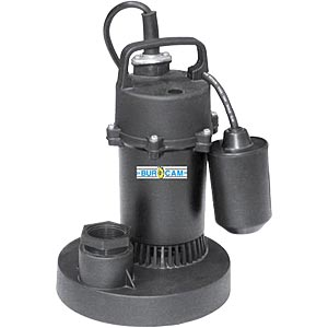 Replacing or repairing the sump pump?