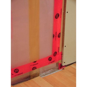 Eliminating moisture behind vapor barriers