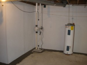Waterproofing your basement using crystalline capillary