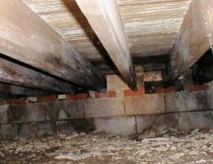 About flooded crawl spaces