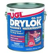 Using DryLok in a wet basement
