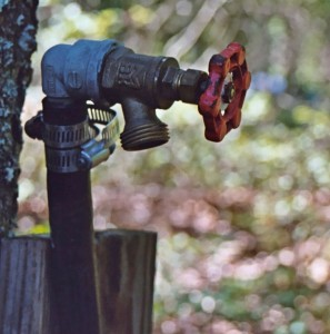 Ways of changing an outdoor water faucet