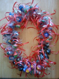 Candy leis for graduation