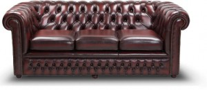 Genuine Chesterfield sofas
