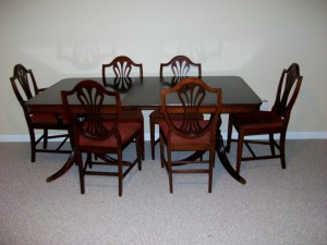Characteristics of the Duncan Phyfe furniture