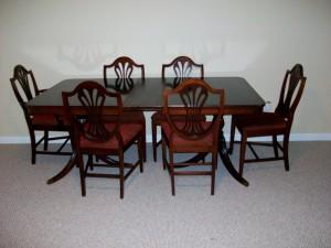 Caractéristiques des meubles Duncan Phyfe