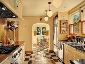 ➤ decorate your kitchen in the 1930s style