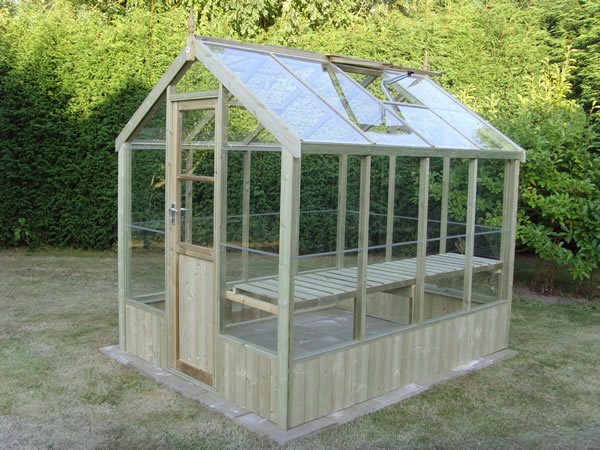 Greenhouse construction kits