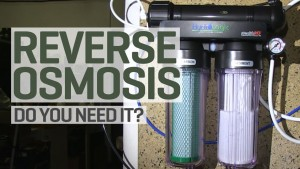Reverse osmosis and purified water